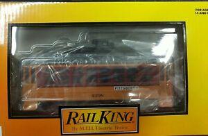 MTH Railking 30-5177 Pittsburgh Bump-n-Go Trolley