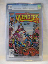 CGC 9.8 Marvel Comics AVENGERS #277 Stern Buscema Palmer ANT-MAN Baron Zemo 1987