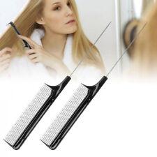 KF_ Anti Static Barber Hairdressing Hair Teasing Comb Home Salon Hairbrush Str
