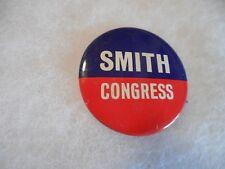 Nebraska Pin Back Local Campaign Button Virginia Dodd Smith Congress U.S. House