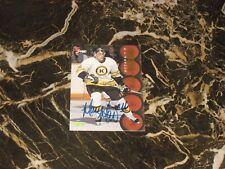 1995 CLASSIC 5 SPORT AUTO/ROOKIE CARD FROM MARC MORO (OTTAWA) NM-MT