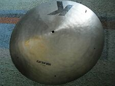 "20"" Zildjian K EAK Flat Top Ride Cymbal with sizzle holes and rivet 2250-2300g"