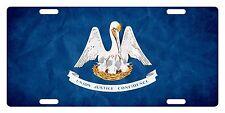 LOUISIANA State Flag  Custom License Plate State Emblem Paper Version