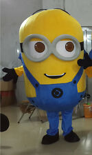 2017 New Minions Despicable Me Mascot Costume EPE Fancy Dress Outfit Adult 07