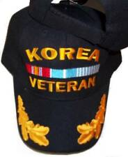 KOREA WAR VETERAN BASEBALL STYLE EMBROIDERED HAT black ball cap korean vet A19