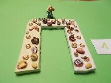 Asterix das gallische Dorf 3 X Festbankett-Tische  + 1 X Obelix    1
