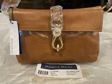 NEW*Dooney & Bourke*LIBBY* Florentine Leather Hobo Shoulder Bag Color Natural