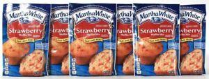 6 Packages Martha White 7 Oz Strawberry Just Add Milk Muffin Mix BB 11/21/2021