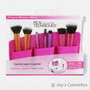"1 REAL TECHNIQUES 3 Pocket Expert Organizer Pink ""RT-1714""  *Joy's cosmetics*"