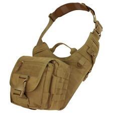 """Condor Outdoor EDC Sling Shoulder Bag Coyote Brown 9""""W x 10""""H 156-498"""