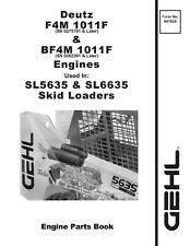Gehl Sl5635 Amp Sl6635 Skid Steer Loader Engine Parts Manual