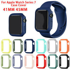 Fitted Apple Watch Series 7 41/45mm PC Protect Hard Bumper Shockproof Case Cover