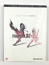 Final Fantasy XIII-2 13 / Le Guide Officiel Complet / Neuf Français PS3 Xbox 360