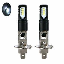 2x H1 Super Bright 6000K White 6000LM DRL LED Headlight Bulb Kit High Beam NEW