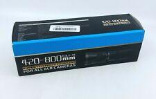 420-800mm F/8.3 Super Telephoto Zoom Lens For All SLR Cameras