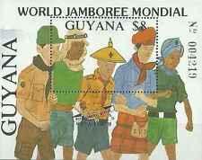 Timbre Scoutisme Guyana BF19B ** lot 20974
