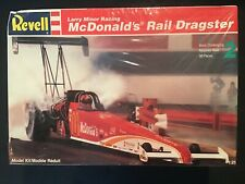 REVELL LARRY MINOR RACING MCDONALDS RAIL DRAGSTER 1:25 SCALE KIT# 7354