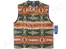New Pendleton 100% Wool Southwestern Sunset Pass Collection Vest SLIM sz L