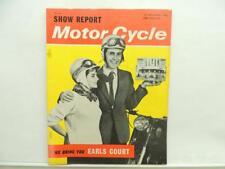 Nov 1962 Motorcycle Magazine Honda Norton Triumph Ariel AJS Lambrella BSA L11741