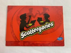 U-PICK Scattergories Card Party Game Replacement Parts Pieces 2013 Hasbro