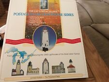 Cat's Meow Village Postage Stamp Lighthouse Series