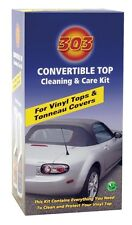 Auto Car 303 Vinyl Convertible Top Kit Cleaner & Protectant FREE Shipping 30510