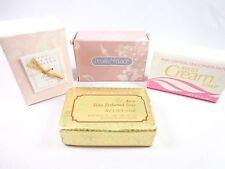 4 perfumed Avon soaps Thymes Limited Amaryllis Pearls & Laces Tasha cream  NWB