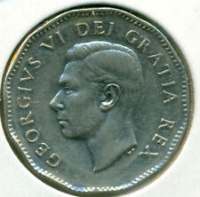 1949 CANADA FIVE CENTS, ALMOST UNCIRCULATED, GREAT PRICE!