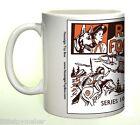 Ceramic mug featuring Marx Rin Tin Tin Fort Apache Play Set   Series 1000