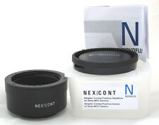 """Novoflex NEX/CONT Adapter Contax / Yashica lens to Sony A7, A7S II, A7R II """"NEW"""""""