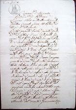 1864 AFFITTO DI UN TERRENO CON CASA A SAN VENANZIO DI MARANELLO NEL MODENESE