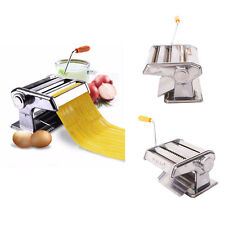 "150mm 6"" Fresh Pasta Maker Roller Machine for Spaghetti Noodle Fettuccine NEW"