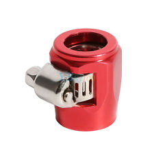 Car Truck AN6 15mm Hose End Finishers Fuel Oil Water Line Clip Clamp Red GLF