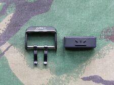New Old Stock NOS Gen 2 Nite MX10 Watch Black Steel Buckle & Rubber Strap Keeper