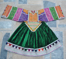 Kuchi Afghan Gypsy Banjara Tribal Bohomian Belly Dance Dress Top Tunic Costume