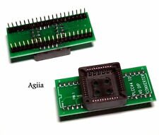 Nuevo PLCC 44 a DIP40 EZ Programador zócalo adaptador conversor universal de IC ARDUINO