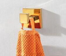 304 Stainless Steel Polished Gold Robe Hook Bathroom Wall Mount Door Hanger