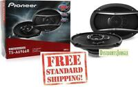 "Pioneer TS-A6966S TS-A6966R 420W 6 x 9"" 3-Way TSA Series Coaxial Car Speakers"