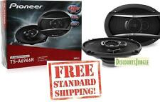 "Pioneer TS-A6966S TS-A6966R 420W 6 x 9"" 3-Way TSA Series Coaxial Car Speakers"