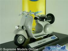 VESPA 125 125CC MODEL SCOOTER MOPED BIKE GREY 1:18 SCALE WELLY K8