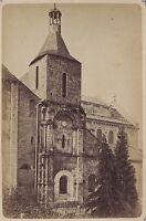 Chiesa Sainte Hilaire Poitiers Francia Vintage Albumina Ca 1880