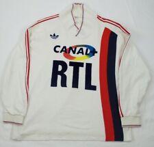 MAILLOT Paris Saint-Germain PSG ADIDAS RTL CANALPLUS 1986/1987