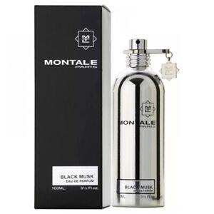 Montale Black Musk Eau de Parfum 3.4 oz / 100 ml Unisex EDP * Authentic *