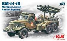 ICM 1/72 BM-14-16 Multiple Launch Rocket System # 72581