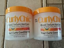Curly Chic Mixed Texture Hair Care  Creamy Leave In Conditioner 11.5 oz (2 pack)