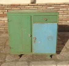 credenza dispensa anni 50 mobile cucina basso madia modernariato vintage legno