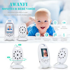 """Babyphone Bébé Moniteur Vidéo sans Fil 2"""" LCD Caméra avec Night Vision 2.4 GHz"""