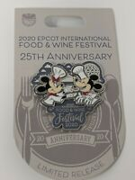 Chef Mickey And Minnie 2020 Epcot Food And Wine Festival LR Pin