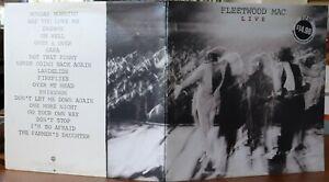 Fleetwood Mac (LIVE) 2 LP set Australian Pressing 1980, Warner Bros. EX-/EX