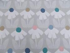 Harlequin/Scion Fabric 'ELOISA' 1.4 METRES 140cm Blush/Slate/Raffia 100% Cotton